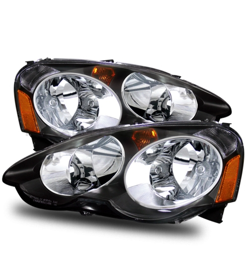 FOR 02-04 ACURA RSX DC5 AFTERMARKET BLACKOUT CRYSTAL